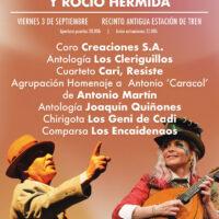 Gala Homenaje a Antonio Cantos «Caracol» y Rocío Hermida